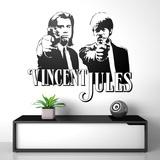 Wandtattoos: Vincent y Jules 0