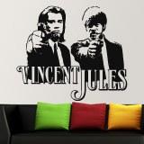 Wandtattoos: Vincent y Jules 1