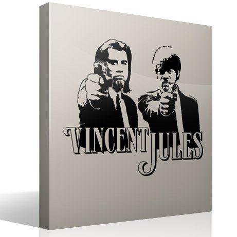 Wandtattoos: Vincent y Jules