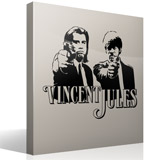 Wandtattoos: Vincent y Jules 4