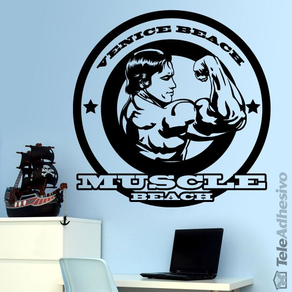 Wandtattoos: Arnold Muscle