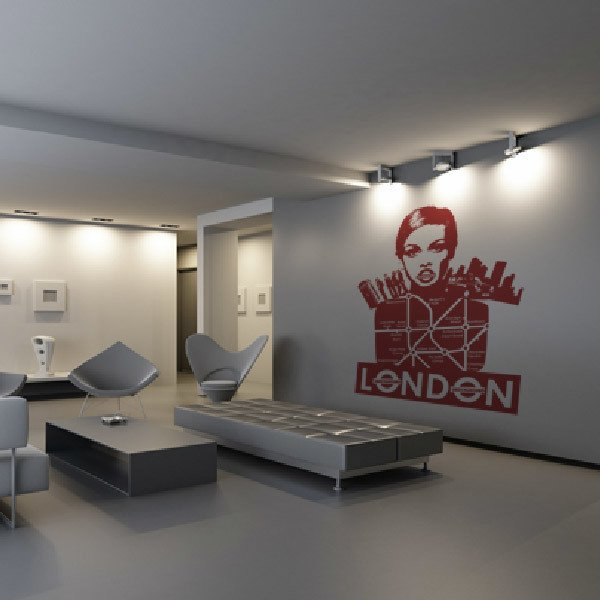 Wandtattoos: London