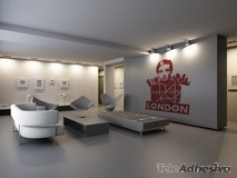 Wandtattoos: London 1