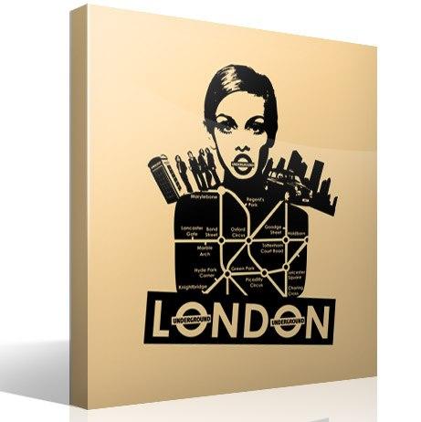 Wandtattoos: London