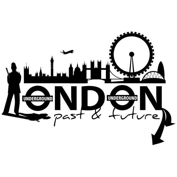 Wandtattoos: London City