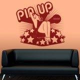 Wandtattoos: Pin Up Girl 2