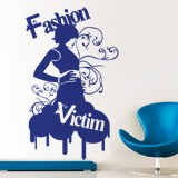 Wandtattoos: Fashion Victim 1