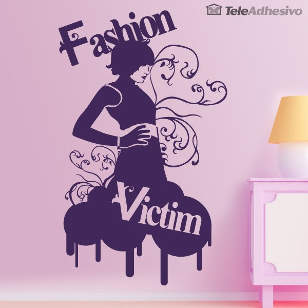 Wandtattoos: Fashion Victim