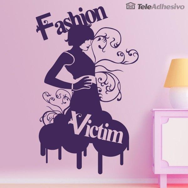 Wandtattoos: Fashion Victim