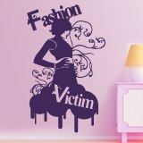 Wandtattoos: Fashion Victim 4