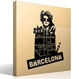 Wandtattoos: Barcelona 3