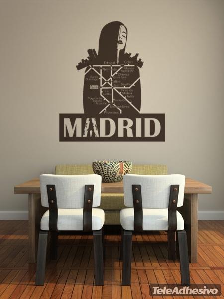 Wandtattoos: Madrid