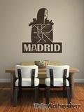 Wandtattoos: Madrid 2