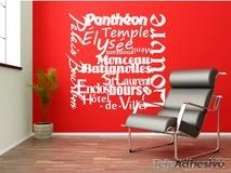 Wandtattoos: Paris Mon Amour 2