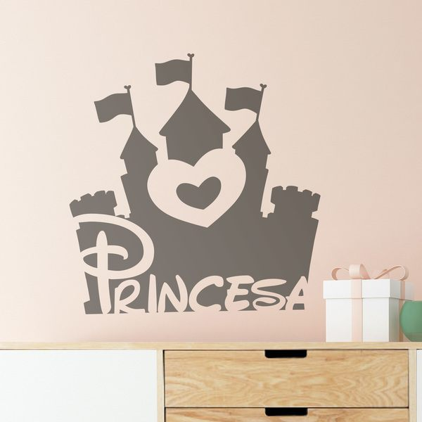Kinderzimmer Wandtattoo: Grown up...Princess