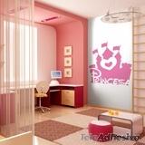 Kinderzimmer Wandtattoo: Grown up...Princess 2