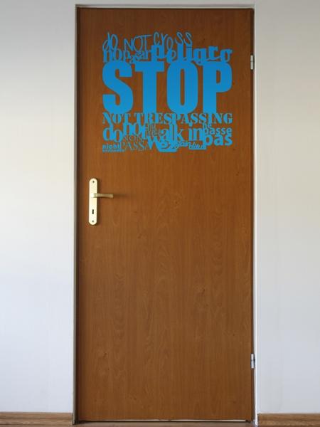 Wandtattoos: Stop Sprachen