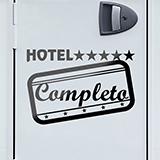 Aufkleber: Hotel Completo 01 0