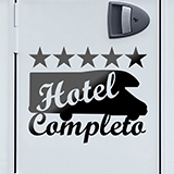 Aufkleber: Hotel Completo 02 0