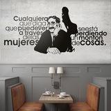 Wandtattoos: Groucho Women 0