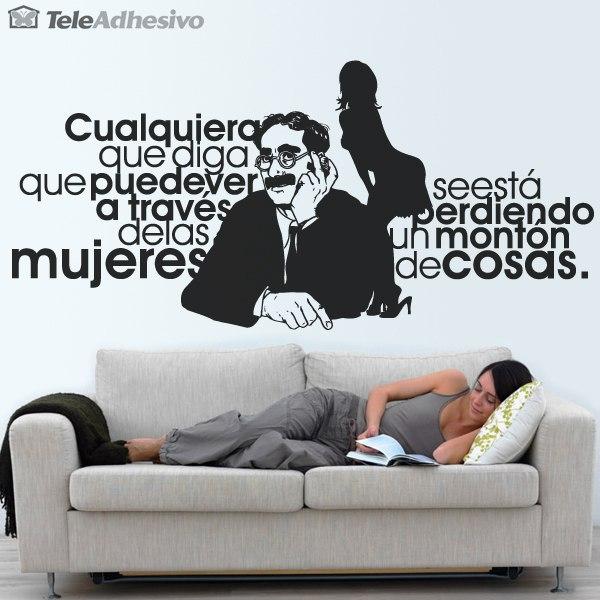 Wandtattoos: Groucho Women