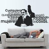 Wandtattoos: Groucho Women 2