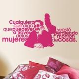 Wandtattoos: Groucho Women 4