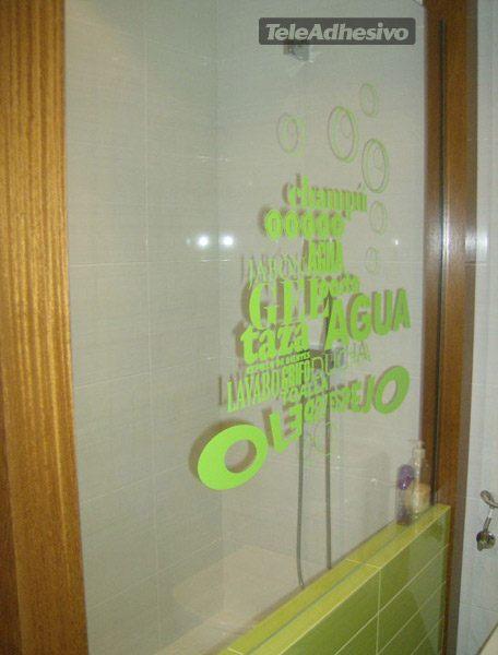 Wandtattoos: Im Badezimmer