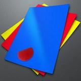 Aufkleber: Vinylfolie Selbstklebend 0