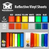 Aufkleber: Vinyl Sheet Reflective 3