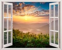 Wandtattoos: Sonnenunterganglandschaft 5