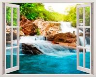 Wandtattoos: Frühling und Wasserfall 5