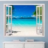 Wandtattoos: Karibischen Strand 1