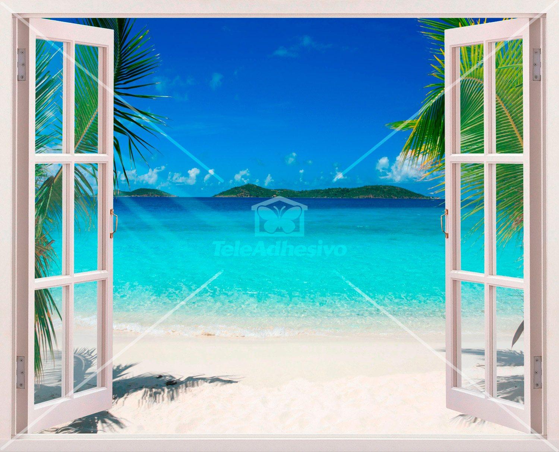 Wandtattoos: Karibischen Strand