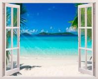 Wandtattoos: Karibischen Strand 3