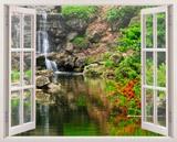 Wandtattoos: See und Wasserfall 3