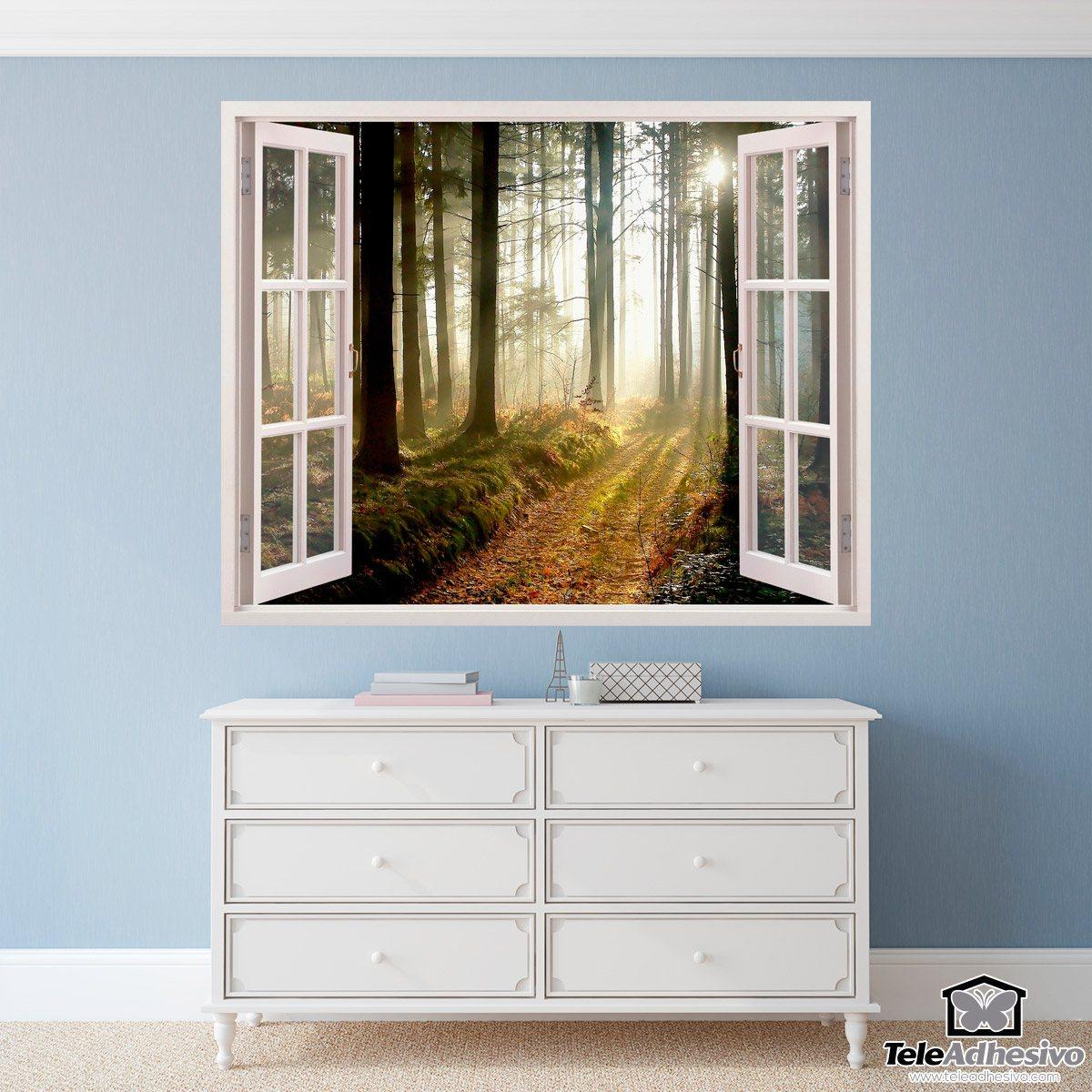 Wandtattoos: Bäume im Wald