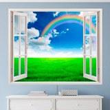 Wandtattoos: Regenbogen auf dem Gebiet 1