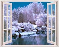 Wandtattoos: Snowy-Wald 5