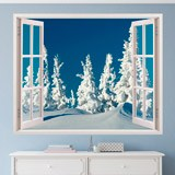 Wandtattoos: Snowy-Wald 2 3