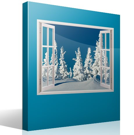 Wandtattoos: Snowy-Wald 2