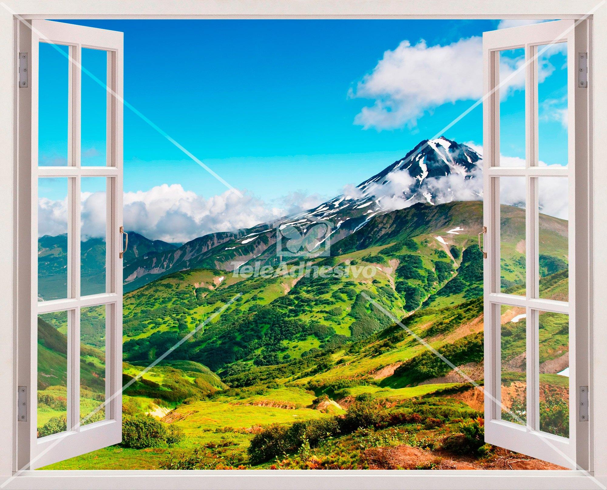 Wandtattoos: Berge und Täler