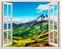 Wandtattoos: Berge und Täler 5