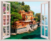 Wandtattoos: Portofino 5