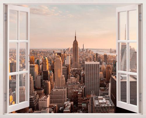 Wandtattoos: In der Innenstadt von New York