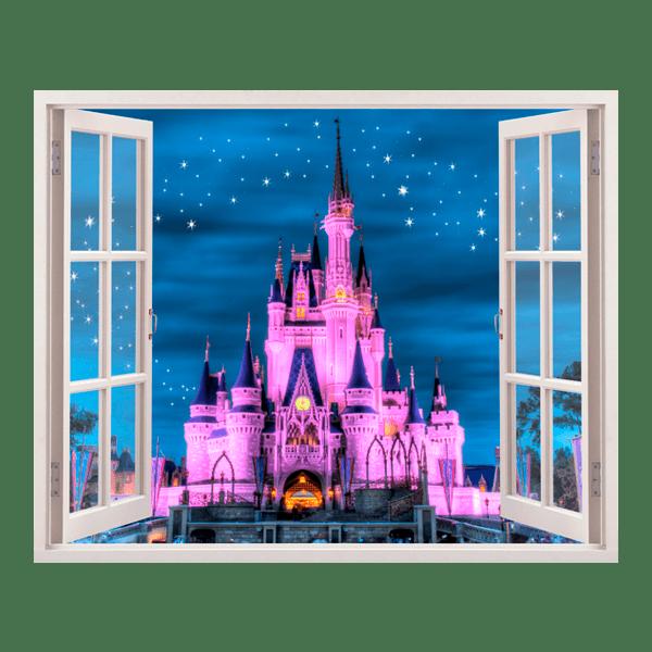 Kinderzimmer Wandtattoo: Disney-Schloss