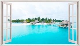Wandtattoos: Panorama Caribbean Island 5