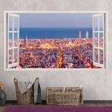 Wandtattoos: Übersicht über Barcelona 3