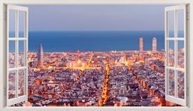 Wandtattoos: Übersicht über Barcelona 5