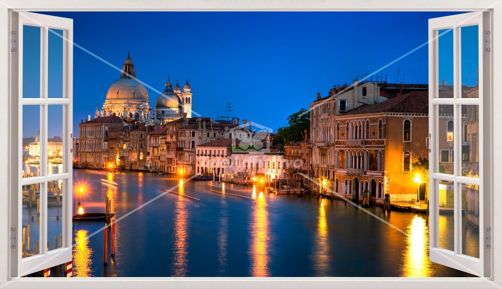 Wandtattoos: Übersicht über Venedig 2